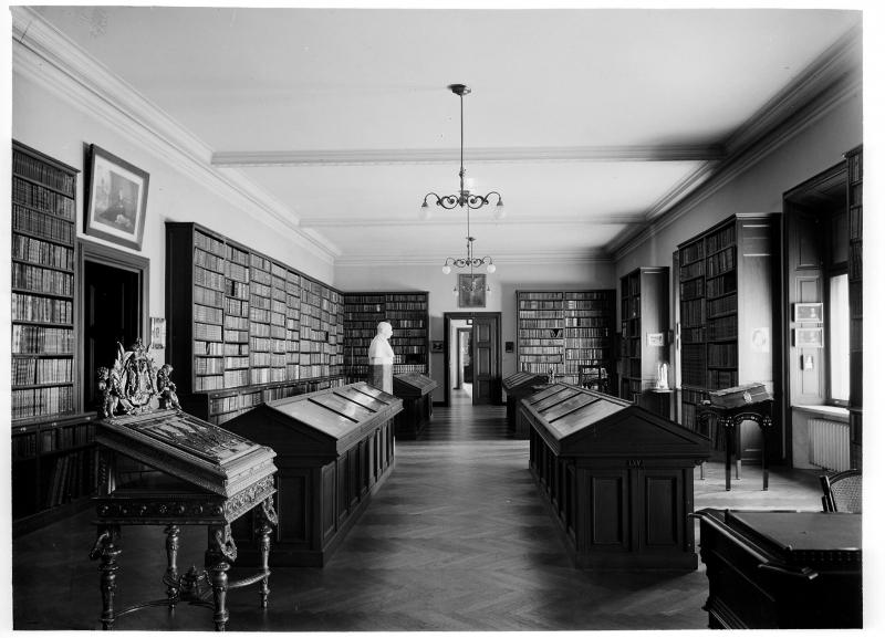 Neue Burg, Corps de logis; Saal IX. im Bildarchiv der Österreichischen Nationalbibliothek (Saal Kaiser Franz Joseph I.)  Datierung: um 1943  Bildnachweis: ÖNB