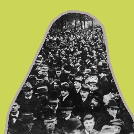 """1918 scheint ein Traum dieser deutschnationalen Schriftstellerin Wirklichkeit zu werden: der """"Anschluss"""" Österreichs an Deutschland. Dieser wird jedoch durch internationale Verträge verhindert. Als Frau hätte sie sich in Österreich nun erstmals offiziell politisch engagieren dürfen. Die neuen Grenzen machen sie aber zur Ausländerin – ihr wird die Staatsbürgerschaft ihres tschechischen Ehemanns zugewiesen. Welche Nationalistin wurde hier vom Nationalismus eingeschränkt?"""