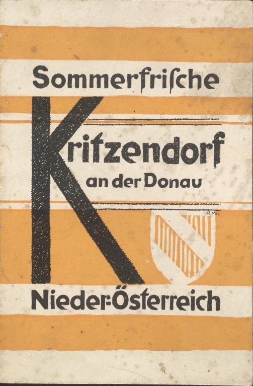 In Kritzendorf wurde unweit von Wien 1903 ein für die Zeit ungewöhnliches Erholungsgebiet als Flussbad gegründet. Wie an vielen anderen Orten stand dahinter ein lokaler Fremdenverkehrsverein.