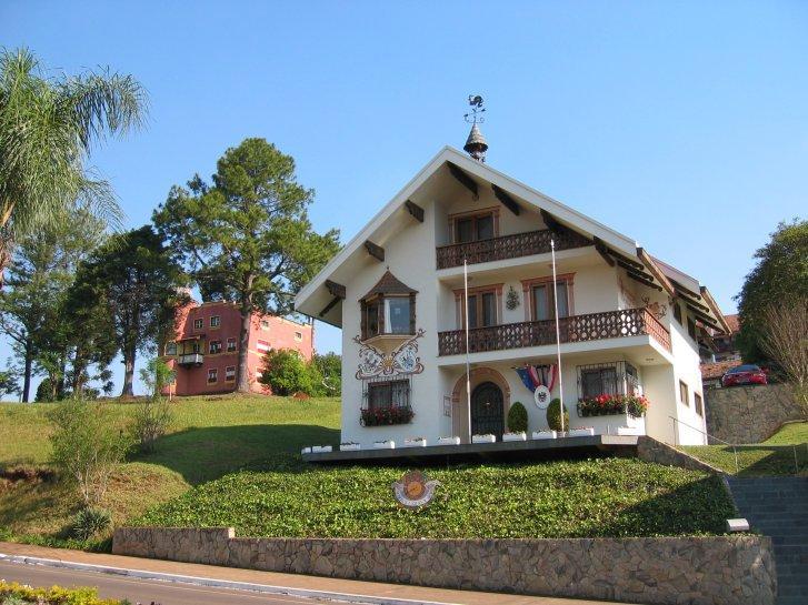 Gebäude des österreichischen Honorarkonsuls in Treze Tílias