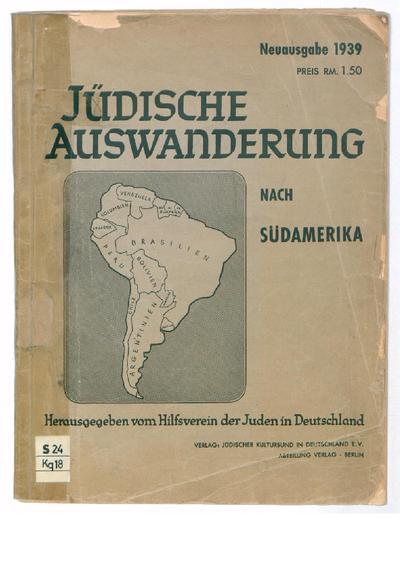 Jüdische Auswanderung nach Südamerika