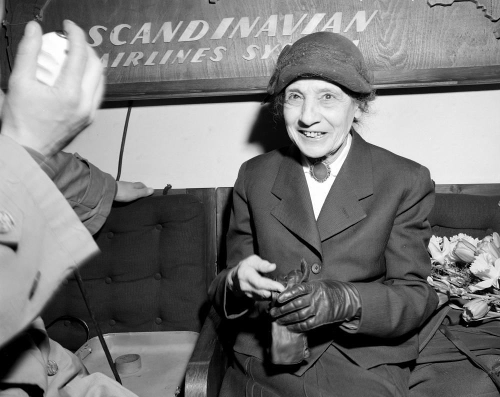 Lise Meitner, wahrscheinlich Wien, 1953