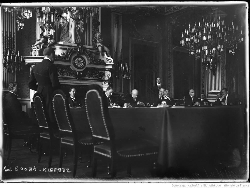 Die Unterzeichnung des Friedensvertrages fand am 16.07.1920 in Saint-Germain-en-Laye statt.